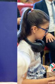 Donazione Costituzione Italiana in braille